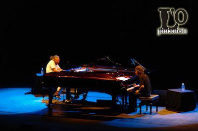 Stefano Bollani e Chick Corea al Pescara Jazz 2012
