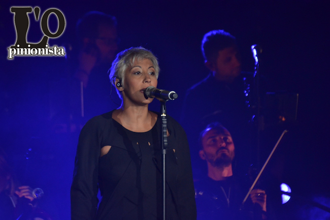 Malika Ayane a Pescara questa sera al Teatro D'Annunzio