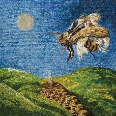 Sergio Ippoliti Luna di miele a Tornareccio_2008 mosaico2009cm100x100