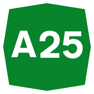 Autostrada A25