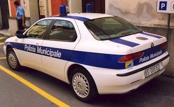 Alfa Romeo Polizia Municipale