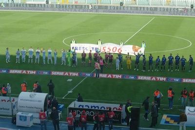 Pescara-Atalanta 0-0 squadre a centrocampo