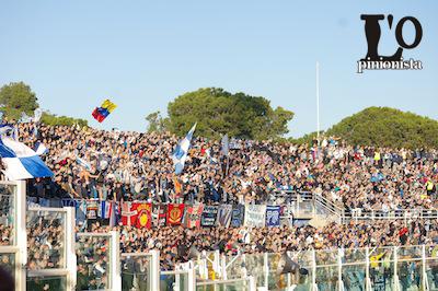 tifosi Pescara in Pescara-Roma