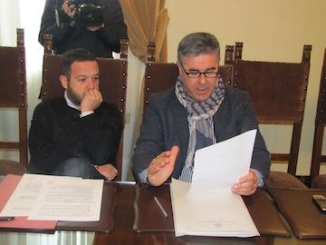 conferenza stampa odierna assessore Antonelli e consigliere Sospiri