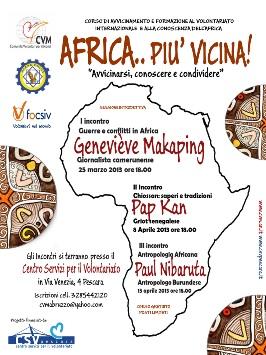 Locandina Africa + vicina 2