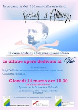 Editori abruzzesi su D'Annunzio 14 03 2013