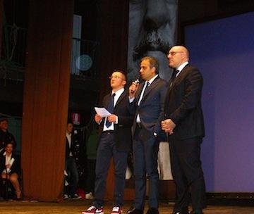 Premio Agenda Rossa -Sindaco di Chieti e Sindaco di Cancello Arnone