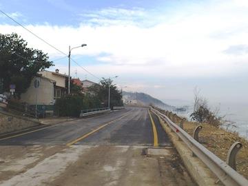 Riapre la SS16 Adriatica a Vallevo'