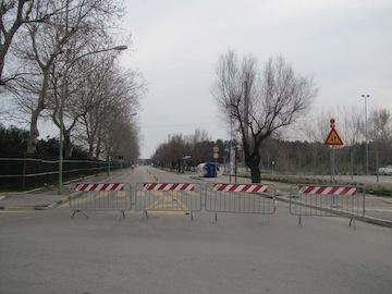 chiusura riviera sud per primo cantiere01
