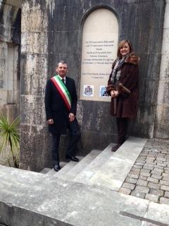sindaco Albore Mascia e Presidente Guerri su celebrazioni Anniversario Orfico al Vittoriale02