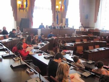 terza seduta odierna del Consiglio comunale dei bambini e delle  bambine03