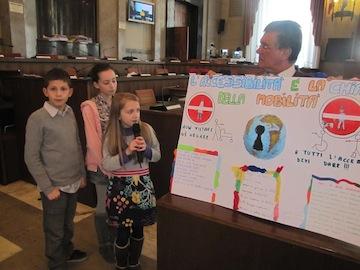 terza seduta odierna del Consiglio comunale dei bambini e delle  bambine05