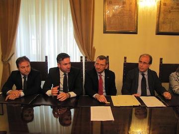 Albore Mascia su stipula convenzione con Direzione scolastica regionale per EuropAurum02