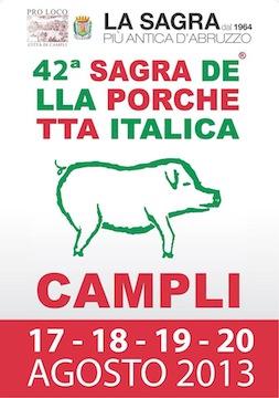 42^ Edizione della Sagra della Porchetta Italica