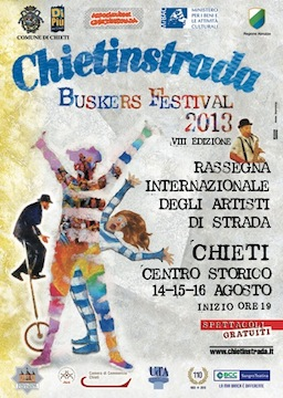 Chietinstrada Buskers Festival 2013