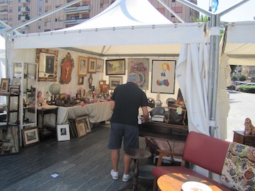 Fiera dell'Antiquariato in piazza Salotto