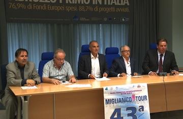Masci presentazione Miglianico Tour 2013