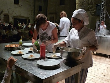 cooking show castelbasso 2012