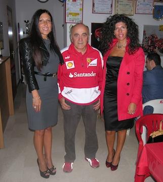 Dino Natali con le miss over Paola Sorgi e Tanya Penkova