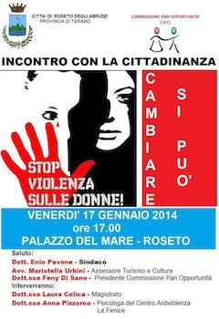 Stop violenza sulle donne!
