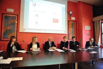ConferenzaStampa_da sx Pagliaricci, Sabella, Di Lorenzo, Di Camillo, Nicodemi, D'Angelo