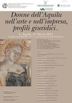 Donne dell'Aquila nell'arte e nell'impresa, profili giuridici