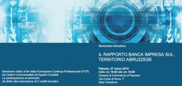 Il Rapporto Banca Impresa sul Territorio Abruzzese