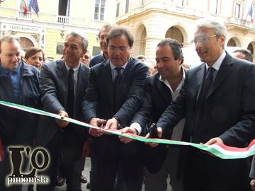 Mauro Febbo inaugurazione comitato elettorale