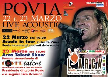 Povia e Cover Talent a Spoltore