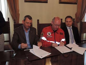 stipula del Protocollo d'intesa con Associazione Nazionale Carabinieri su Parco Florida