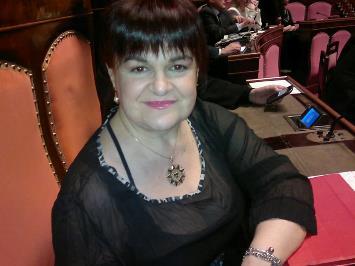 Senatrice Stefania Pezzopane
