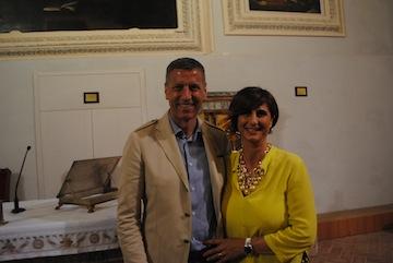 I coniugi Luigi e Manuela Ripani