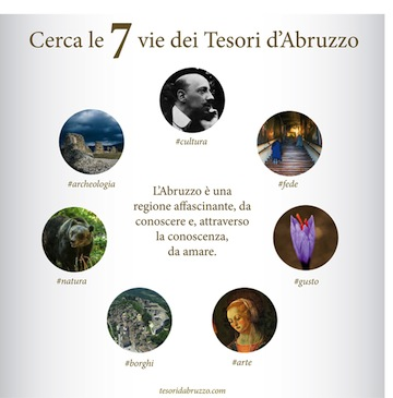 Le sette vie dei Tesori d'Abruzzo