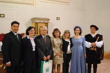 da sx. De Berardinis, Richi, Capezzali, Taccone, Di Pancrazio, Gizzi e Torto