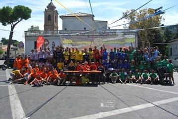 Pescara,Colli senza Frontiere 2014 : vincono ancora spirito di amicizia e sano agonismo