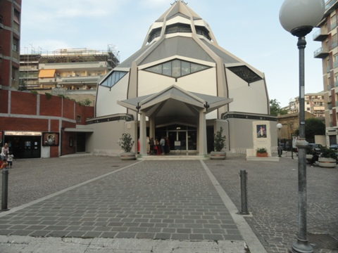 La Chiesa di S.Andrea, dove si raccoglie la comunità dei pescatori
