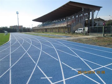 Montesilvano pista d'atletica