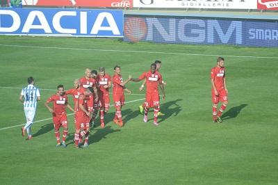 Pescara-Carpi 0-5: affonda il Delfino, Baroni al capolinea?