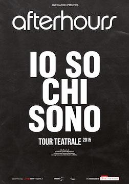 """Gli Afterhours il 17 febbraio a Civitanova Marche con """"Io so chi sono"""""""