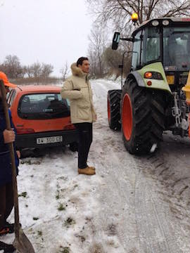 sindaco Maragno neve Montesilvano