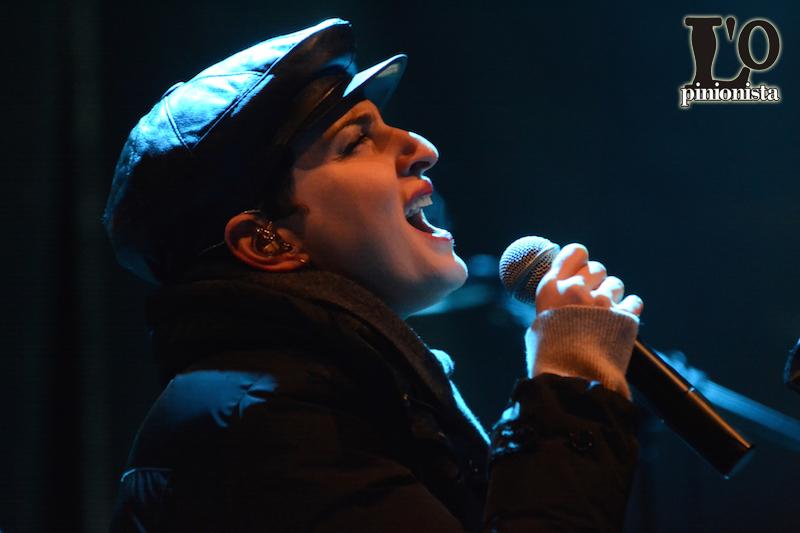 Arisa in concerto a Francavilla al Mare 2015