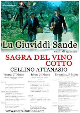 Lu Giuviddì Sande 2015 a Cellino Attanasio