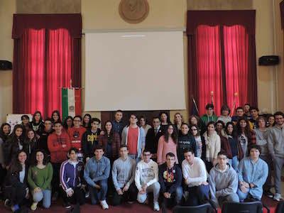foto di gruppo studenti progetto