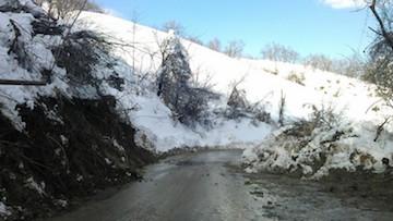 maltempo neve provincia di teramo