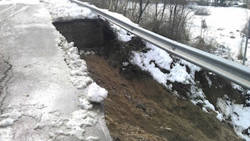 neve e frane provincia teramo