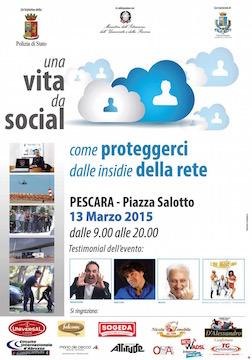 vita da social a Pescara