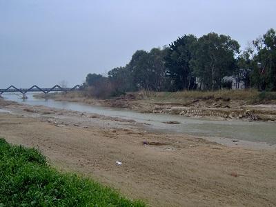 Foce Salinello alluvione 2011