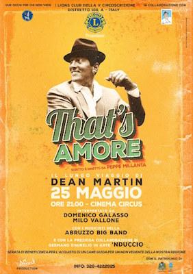 That's Amore – Il lungo viaggio di Dean Martin