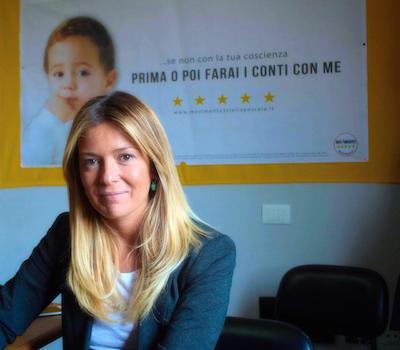 Il consigliere Sara Marcozzi
