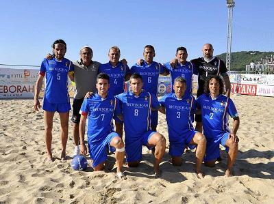 Silvi, presentazione Torneo Internazinale di Beach Soccer